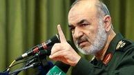 سرلشکر سلامی: به نیابت از ملت ایران دستمان روی ماشه است