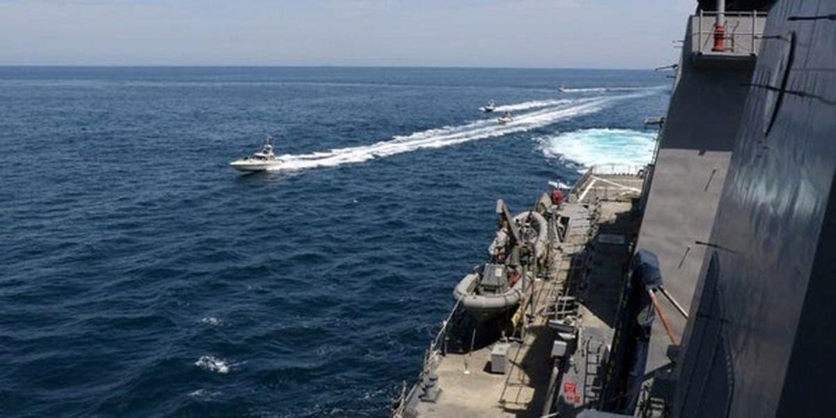 ادعای نیروی دریایی آمریکا در مورد مواجهه با نیروهای ایرانی در خلیج فارس