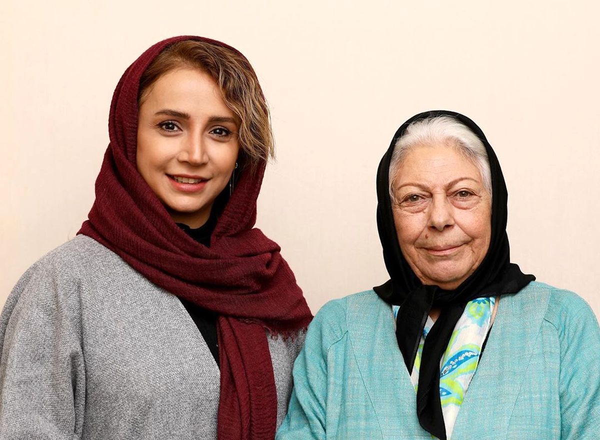 عکس دیدنی شبنم قلیخانی در کنار خانم بازیگر