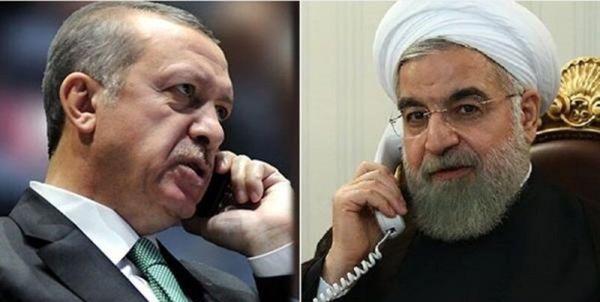 گفتگوی تلفنی روحانی و اردوغان/ وزیر خارجه قطر با رئیس جمهور دیدار کرد