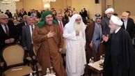 روحانی: ملتهای منطقه به همه جهانیان نشان دادند که حامی اصلی تروریست ها استکبار جهانی است/آمریکایی ها در حال انتقال تروریست ها به افغانستان ، آسیای مرکزی و قفقاز هستند