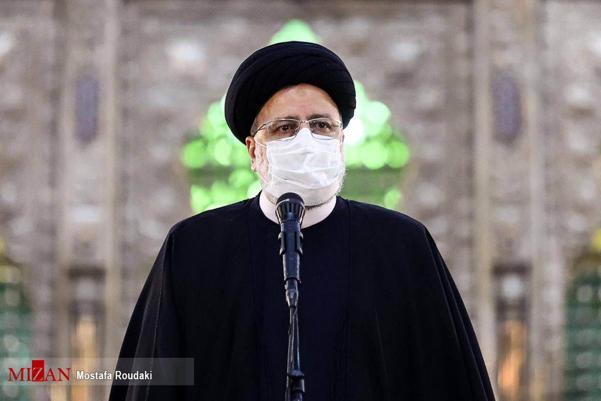 رئیس قوه قضائیه در حرم امام خمینی(ره): دستگاه قضا باید مقتدرانه عمل کند