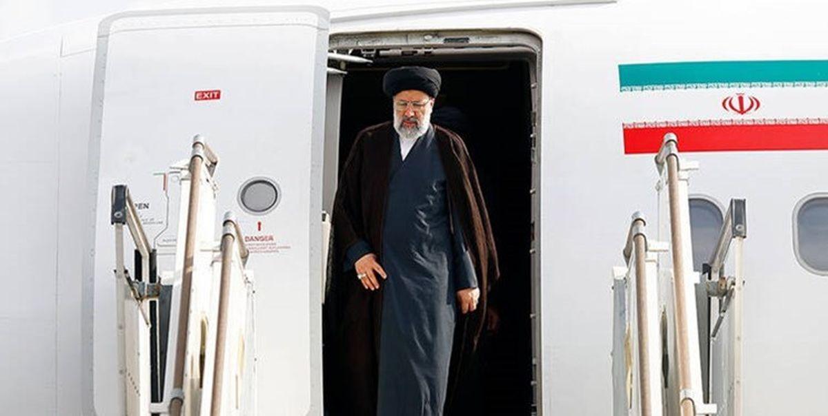 رئیسی تهران را به مقصد دوشنبه ترک کرد