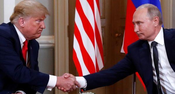 عکس/ دیدار ترامپ و پوتین در هلسینکی فنلاند