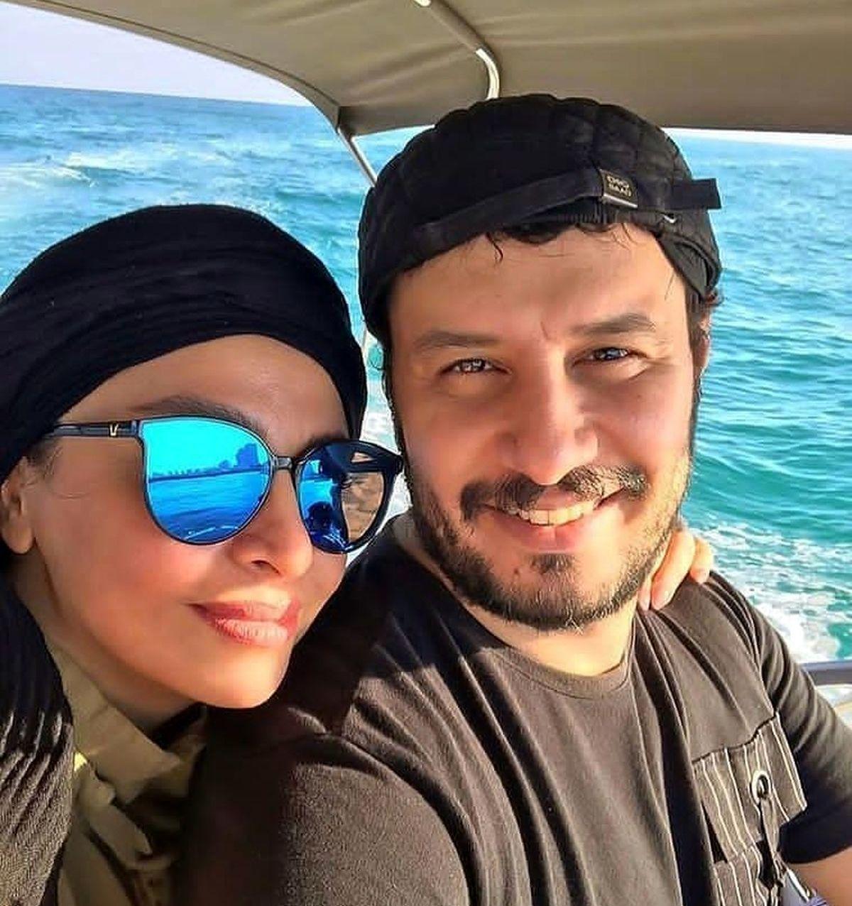 ماجرای ازدواج جواد عزتی و همسرش مه لقا باقری