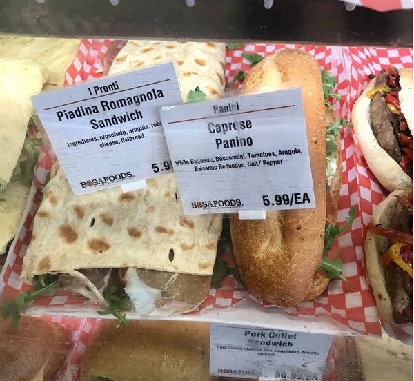 فروش ساندویچ با تولید نان سنگک در ایتالیا با نام جدید (عکس)