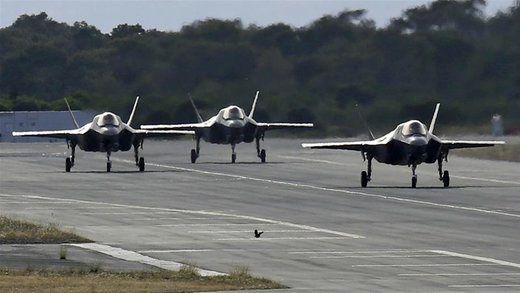 آموزش خلبانهای اف-۳۵ ترکیه توسط آمریکایی ها متوقف شد