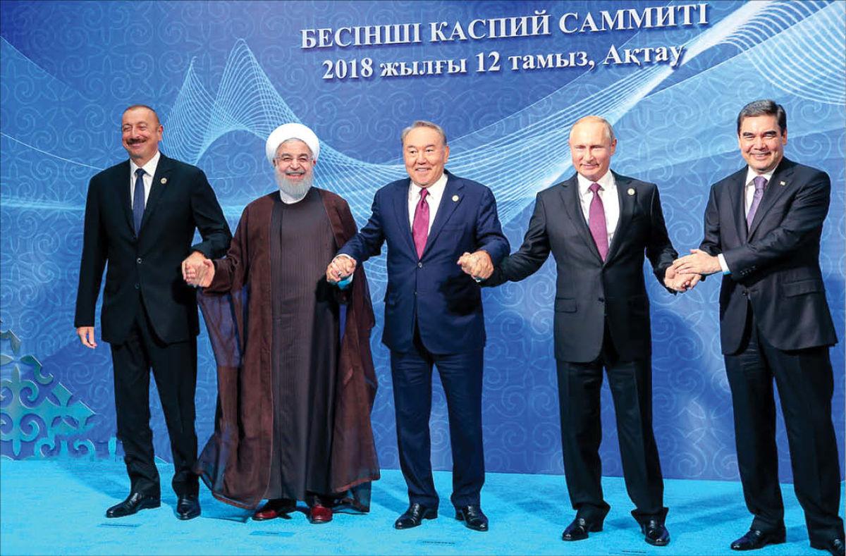 «خط مبدا» سهم ایران از خزر کجاست؟