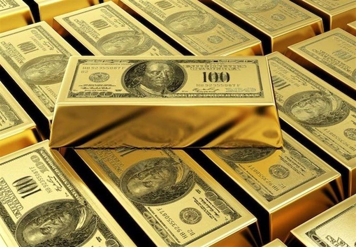 قیمت طلا امروز ۹۹/ سقوط شدید قیمت طلا در بازار امروز