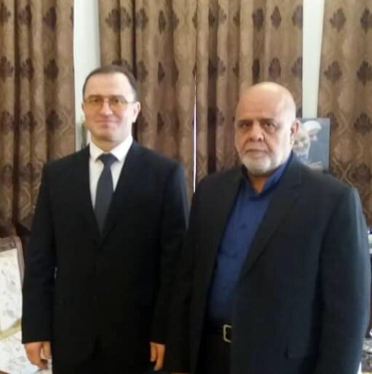 رایزنی سفرای ایران و روسیه در عراق