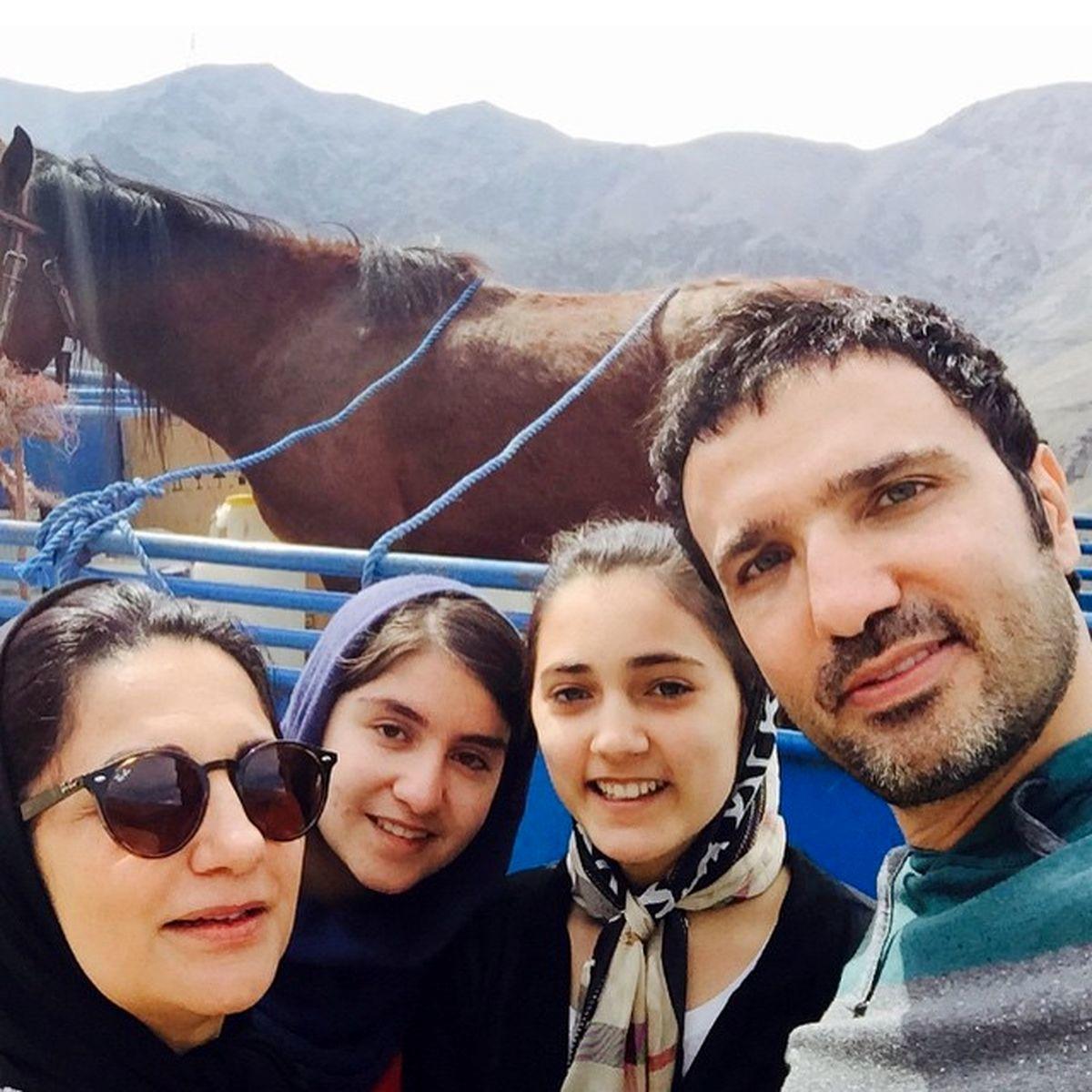 محمدرضا فروتن از همسر و فرزندش رونمایی کرد +تصاویر