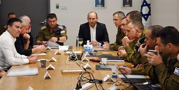 جلسه کابینه امنیتی رژیم صهیونیستی بعد از شهادت سردار سلیمانی